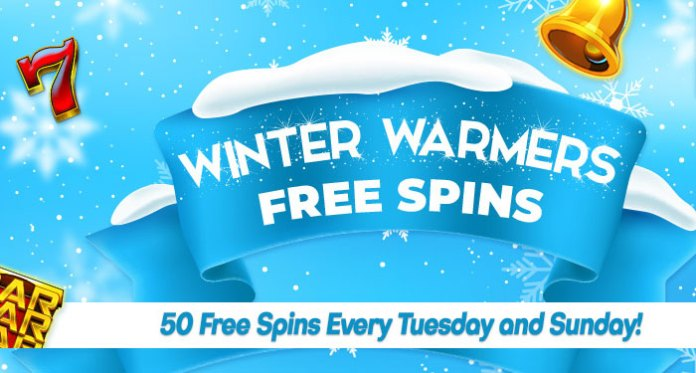 Winter Warmers50 Free Spins Every Tuesday and Sunday Await All Month Long at Downtown Bingo