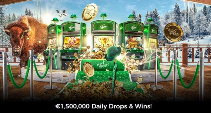 Free Spins Reel Thrill Tournament + €10,000 Cash Drop at Mr Green