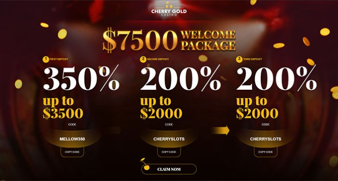 Cherry Gold Casino Has Two Fantastic Bonuses to Cure Your Ancient Hangover