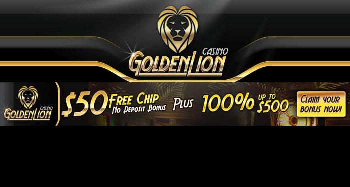 50 Free Chip No Deposit Bonus At Golden Lion Casino