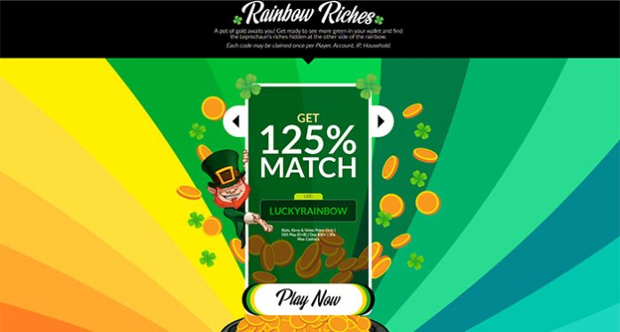 Casino Extreme - It's Time for Rainbow Riches and Free Spins