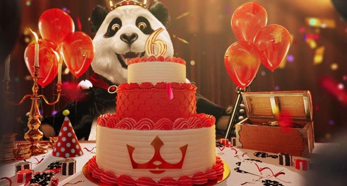Royal Panda Is Celebrating its 6th Bday With Live Casino Draws
