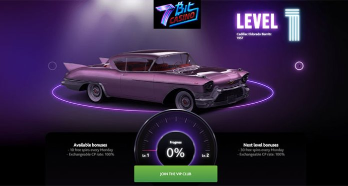 Join 7 Bit Casinos VIP Level Up Program