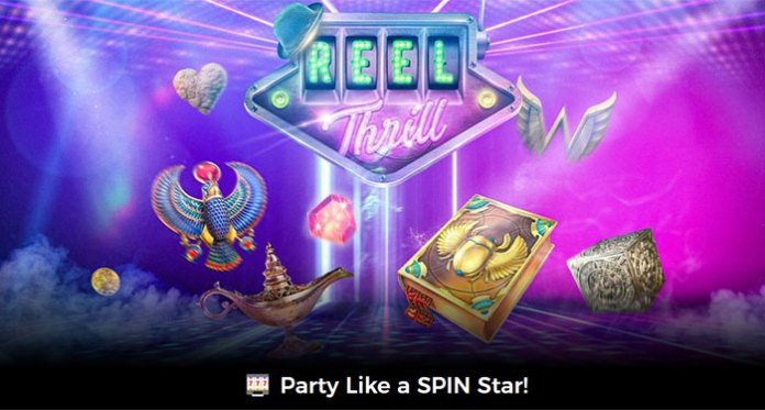 Join Mr Green's One of a Kind Spin Off Party - Reel Thrill Tournaments
