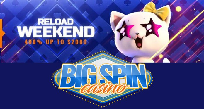 It's the Weekend Grab an Extra $2000 to Play at BigSpin Casino