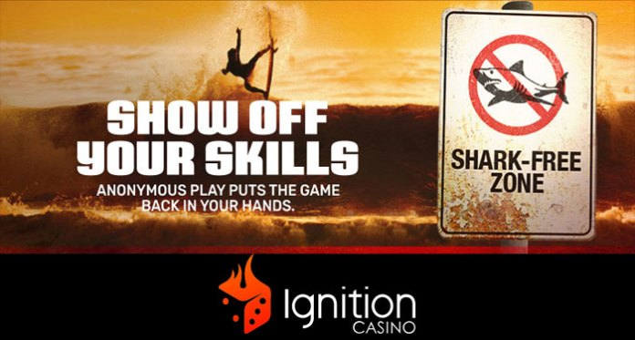 Ignition Poker's Anonymous Tables Eliminates the Threat of Traditional Poker