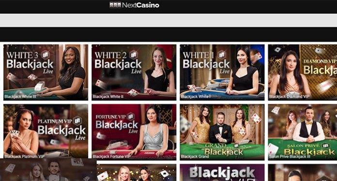 Play Against Live Casino Dealers at NextCasino - 100% Bonus + 100 Free Spins