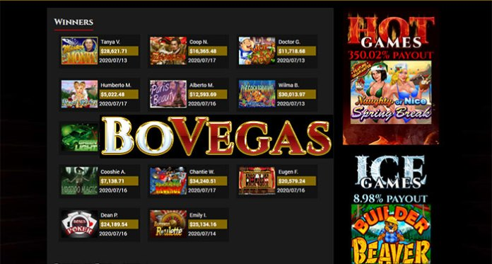 Play BoVegas Casino for Life Changing Progressive Wins