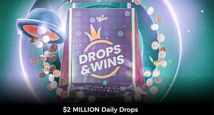 Mr Green is Giving Away $2 Million Daily Drops and Wins