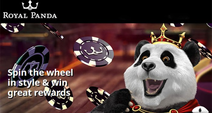 Get A $50 Bonus Reward in Royal Panda's Roll and Win Promotion