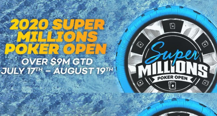 The Super Millions Poker Open is back for 2020 at Bovada Poker