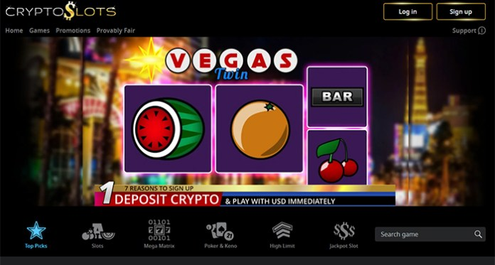 Time is Running Out, Claim CryptoSlots' Vegas Twin Pick Bonus