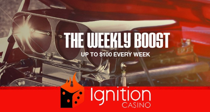 Rev Up Your Monday with Ignition Casinos Weekly Boost