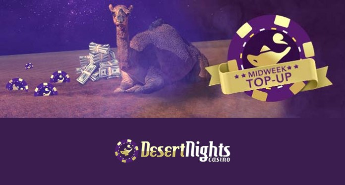 Get Your Hump Day Mid-Week Top-Up at Desert Nights Casino