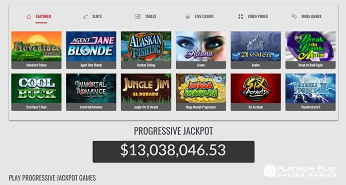 Platinum Play Casino's Progressive Jackpots are Soaring Higher Than Ever!