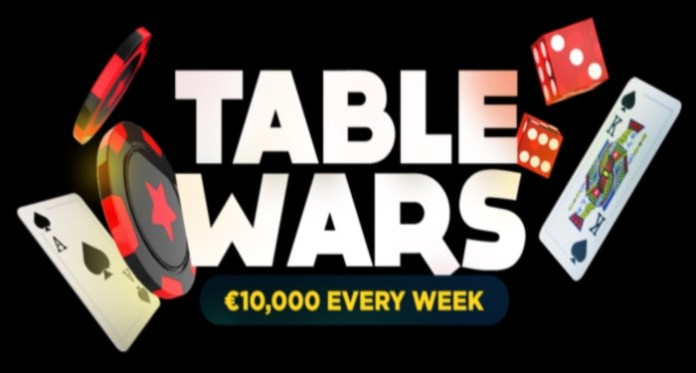 Play to Win $10K with Bitstarz Table Wars