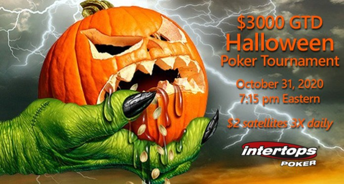 Intertops Poker Putting up $3000 for Halloween Poker Tournament