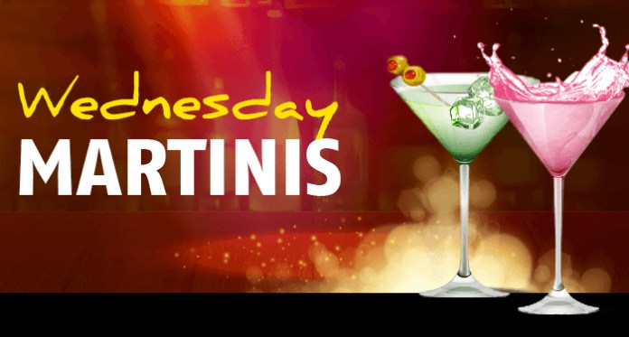 Wednesday's is Martini Day Over at Red Stag Casino