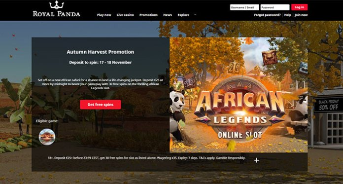 Adventure in an African Safari with Royal Panda's Autumn Harvest