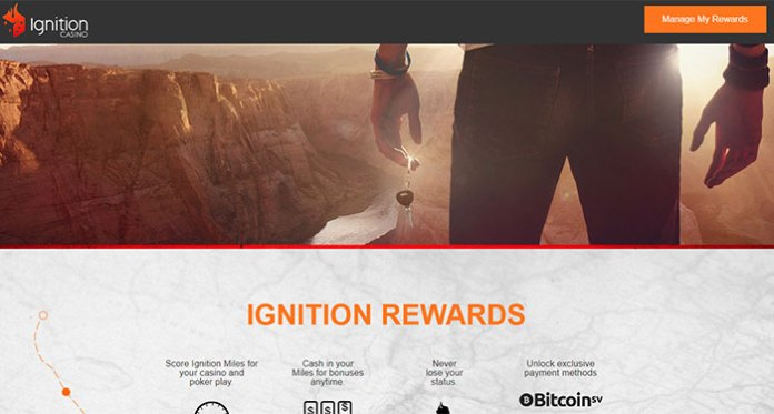 Ignition Rewards Are On Fire at Ignition Casino!