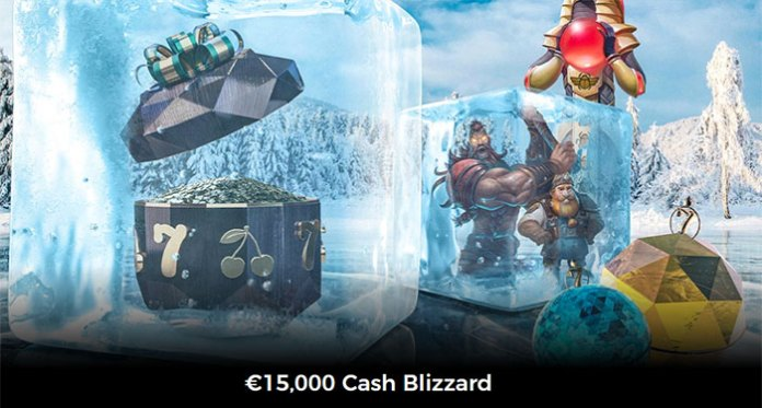 Get the Freeze Play Win with Mr Green's €15,000 Cash Blizzard
