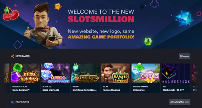 Check Out the New Look at Slot Million w/Over 2770 Games