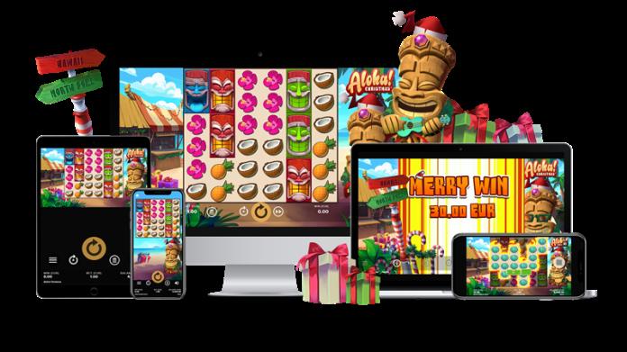NetEnt Adds Festive Twist to a Fan-Favourite with Aloha! Christmas™