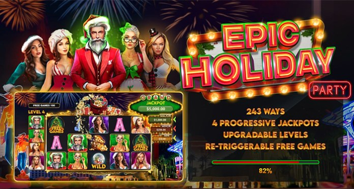 Join the Epic Holiday Party Slot Bonuses at Miami Club and Sloto'Cash