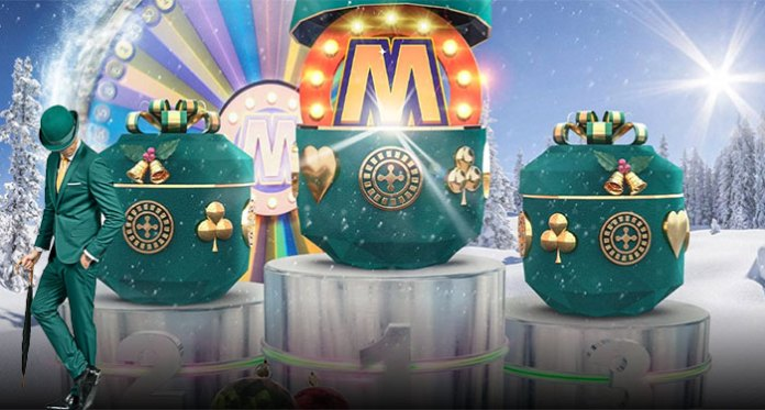 It's a Mega Merry Tournament This Holiday at Mr Green Casino
