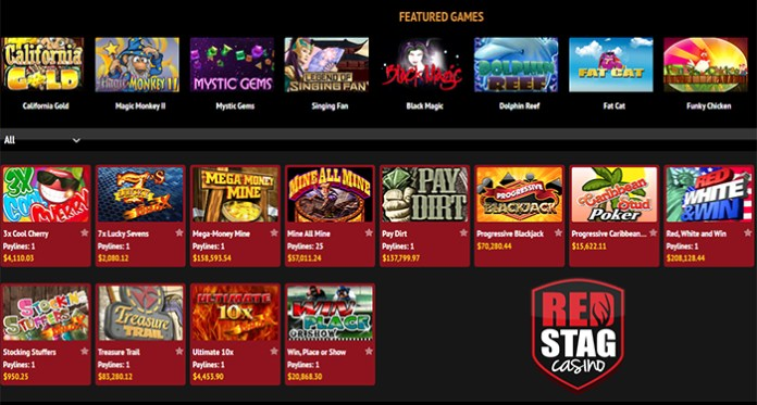 Red Stags Progressive Slots are on Fire and You Could Be Next!