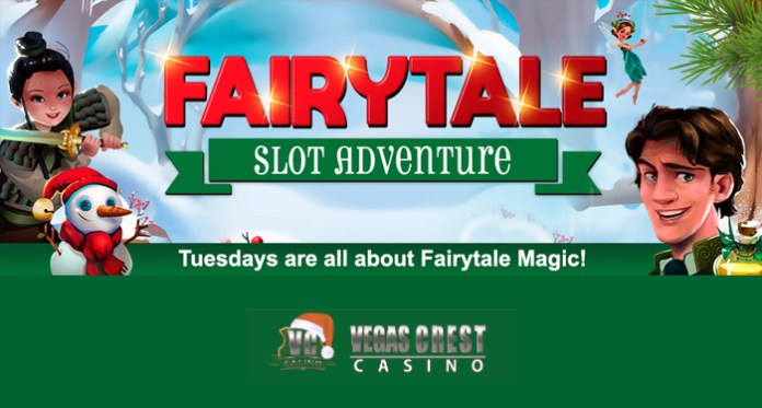 Tuesdays at Vegas Crest Casino Are All About the Fairytale Slot Adventure