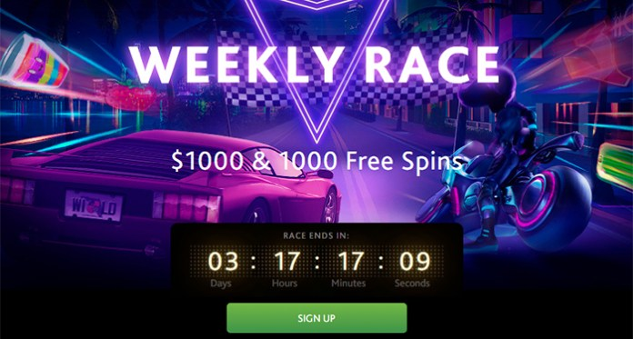 7Bit Casinos Weekly Race Competition, Play Slots, Get Rewarded