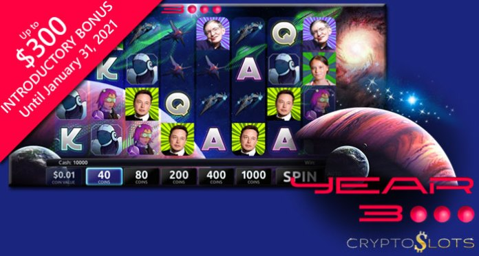 Cryptoslots' Looks to the Future with New Year 3000 Slot