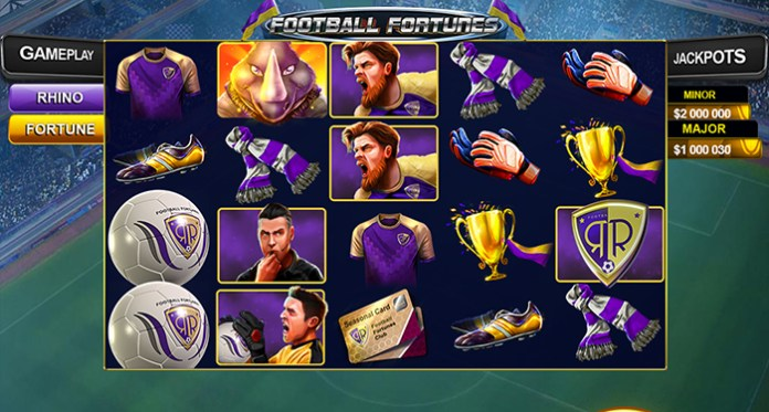 Football Fortunes, a New 5 Reel Video Slot, is LIVE at Sloto'Cash