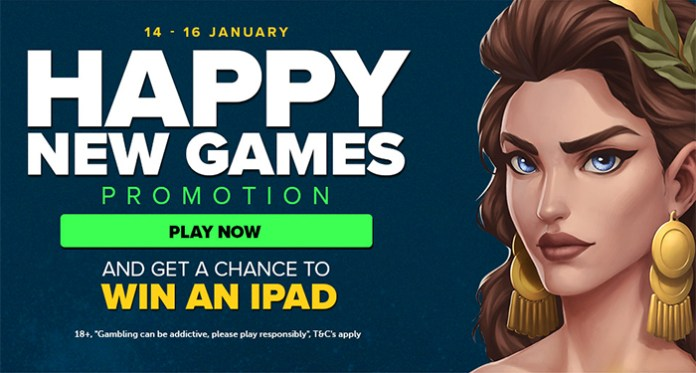 Next Casino is Celebrating a Happy New Games Promotion
