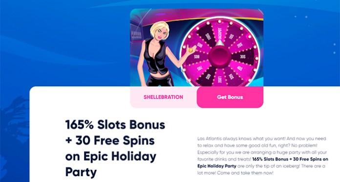 There's a Slot Bonus Celebration Happening Over at Las Atlantis Casino