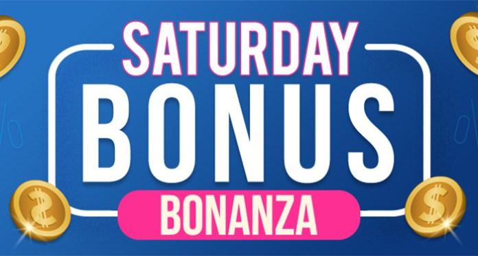 Spend Saturday Playing Vegas Crest Casinos Bonus Bonanza Giveaway