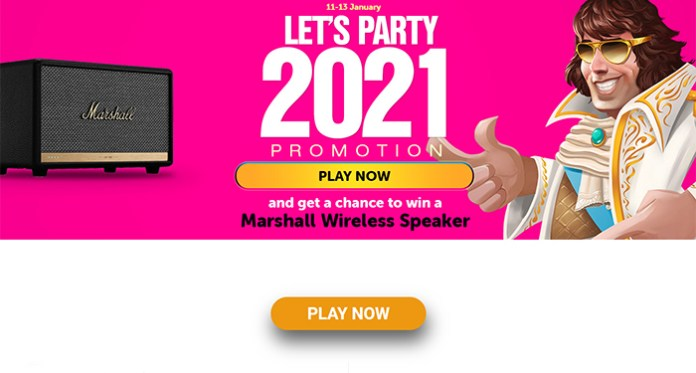 Time to Celebrate 2021 with a Party of Bonuses at WildSlots Casino