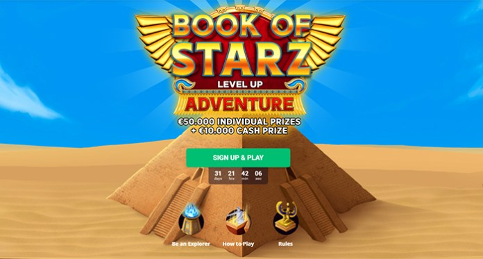 Level Up with 50K in Prizes with Bitstarz Book of Starz Promotion