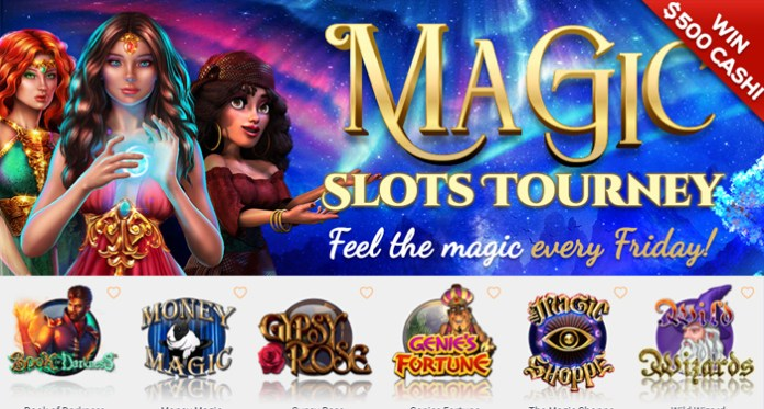Feel the Magic Friday with CyberSpins Casinos Magic Slots Tourney
