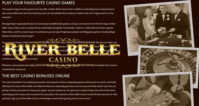 Did You know River Belle Casino Puts a New Spin on Casino Classics?