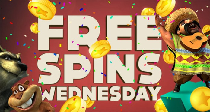 It's Free Spin Wednesday, only at BitStarz Casino!