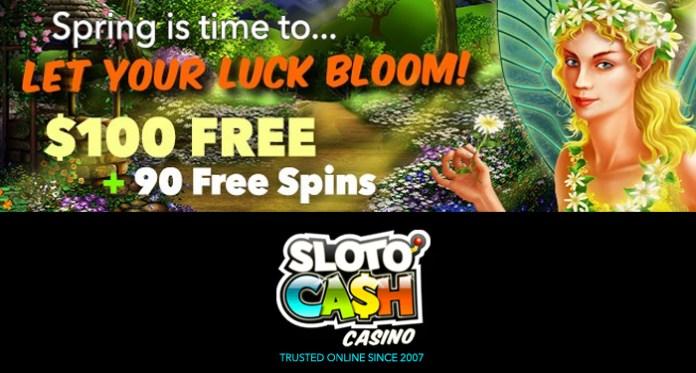 April Showers Really Does Bring May Sunshine at Sloto'Cash