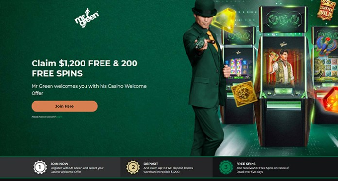 Battle it Out When You Play Mr Green's $10,000 Free Spin Feature Chase