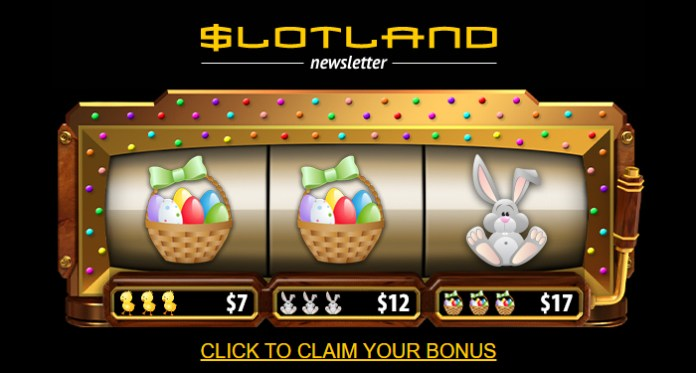 Slotland Easter Bonus Eggstravaganza - Spin, Claim & Win