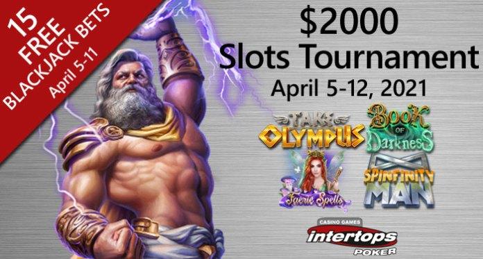 $2000 Slot Tournament This Week at Intertops Poker