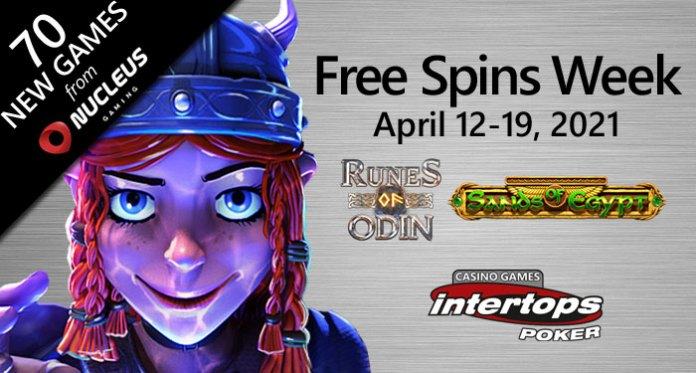 Norse and Egyptian Gods Wield Their Powers During Free Spins Week