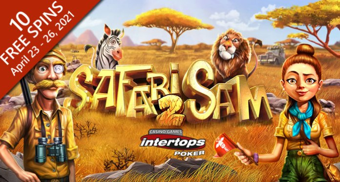 Intertops Poker Players Follow the Call of the Wild with 10 Free Spins