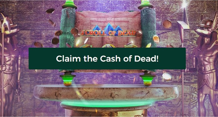 Play for a Share of €10,000 and Claim the Cash of Dead!
