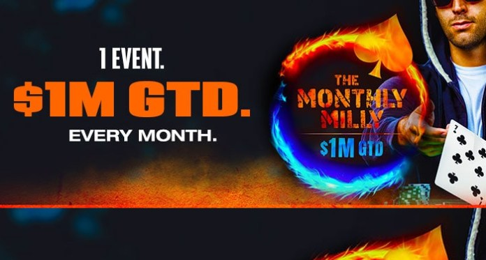 Take Your Shot Every Month with Ignition Poker's Monthly Milly Tournaments